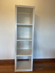 Ikea Like New Ikea Kallax Shelving Unit White Storage Unit With 2 Storage Cubes
