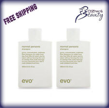 evo ® normal persons daily shampoo and daily conditioner Duo Pack