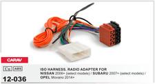 CARAV 12-036 Conector ISO OEM Adaptador NISSAN 2006+ SUBARU 2007+ OPEL Movano