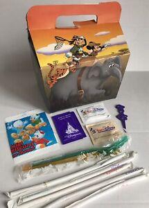 1992 Euro Disney Land Fast Food Reasturant  Sugar Straws Knife Fork Disneyland