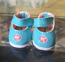 """Madame Alexander Accessories Pair of light blue and pink shoes for 8"""" doll Wendy"""
