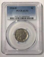 1916-D Buffalo Nickel ~ PCGS AU53