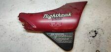 1984 84 Honda Nighthawk 650 CB650SC Right side cover panel frame