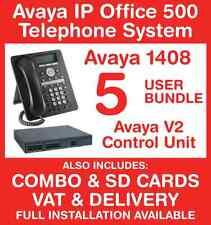 Avaya IP Office Phone System - 5 user bundle - Includes VAT