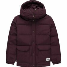 The North Face Youth Sierra Down Parka Boy's Size L 14-16 Garnet Red Hooded