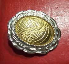 Gold & Silver Tone Scarf or T-Shirt Clip Slide Ring