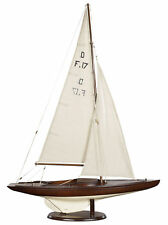 """Dragon Olympic Sail Racer Class One Design Sailboat Model 30"""" Sailing Boat New"""