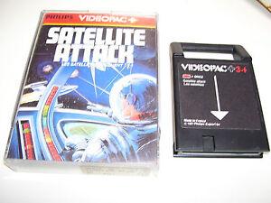 Philips Videopac Game 1981 *34+ SATELLITE ATTACK 34 +  * RARE