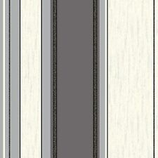 New ebony black / silver glitter-M0785-Synergy-Rayure-Vymura Wallpaper