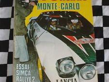auto hebdo n°46 1977 / RALLYE MONTE-CARLO / SIMCA 1000 RALLYE 2 KITEE / ANDRUET