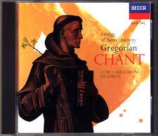 GREGORIAN CHANT Liturgy of Saint Anthony CORO GREGORIANO DI LISBOA Lisbon CD 94