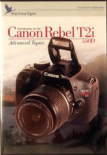 Blue Crane Canon 550D Camera Training DVDs, Volume 2