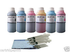 Refill ink kit for HP 84  85 DesignJet 30 30n 50PS 90 90gp 90r 130  6x10OZ/S