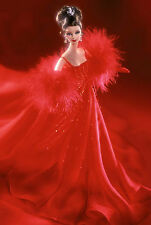 STUNNING** LIMITED EDITION 2001 FERRARI BARBIE**SWAROVSKI CRYSTALS ON GOWN*NRFB