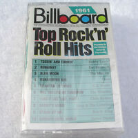 Billboard Top Rock & Roll Hits: 1961 [Cassette]Various NEW-SEALED!