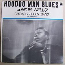 Junior Wells Hoodoo Man Blues Chicago Blues Band Buddy Guy Blues Delmark LP