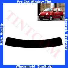Pre Cut Window Tint Sunstrip for Daewoo Matiz 5 Doors Hatch 1998-2004 Any Shade