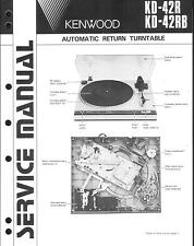 Kenwood Original Service Manual für KD-42 R/RB