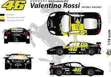 [FFSMC Productions] Calcomanías 1/18 Ferrari F-430 Scuderia GT Valentino
