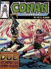 Conan il Barbaro COLORE n°15 ed. Marvel Comic ART  [G.187]