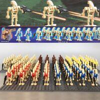Mini figure Minifig Army Custom figs compatible Star Battle Droid Blasters Wars