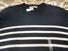 NWT OLD NAVY LIGHTWEIGHT NAVY & IVORY SWEATER SIZE XL