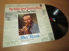 ILKA RAVEH the walls came tumbling down (the six-day war) FLUTE FOLK CERTRON Lp