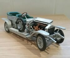 FRANKLIN MINT DIECAST 1907 ROLLS ROYCE SILVER GHOST FOR SPARES OR RESTORATION