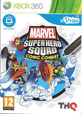 MARVEL SUPER HERO SQUAD COMIC COMBAT for Xbox 360 - with box & manual - PAL
