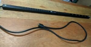 APC AP7893 Rack PDU, Metered, Zero U, 5.7kW,120&208V,(21)5-20&(6)L6-20; 10' Cord