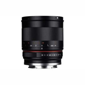 Samyang 50mm F1.2 CSC Manual Focus Fast Prime Lens - Fujifilm X-Mount - New
