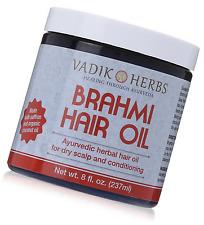 Brahmi Hair Oil (8 oz)   all natural herbal hair oil for hair growth, hair condi