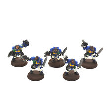 SPACE MARINES 5 scout #3 METAL WP Warhammer 40K Scouts