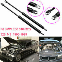 Vehicle Auto Front Gas Hoods Lift Supports Struts For For BMW E36 318i 325i 328i