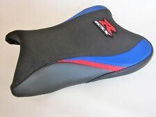 S63  Suzuki GSXR 600 750 K8,K9,K10 seat cover upgrade Blue/Red/Black-FRONT