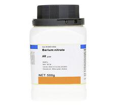 Barium nitrate Ba(NO3)2 AR grade green flame high purity 500g
