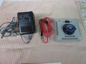 BACHMANN TRANSFORMER AND CONTROLLER EX SET NEW.ANALOUGE