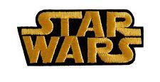 Star Wars - Movie Logo - Uniform Patch - Kostüm Aufnäher - zum Aufbügeln