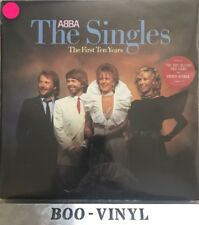 Abba The Singles The First Ten Years Vinyl UK 1982 Double LP Greatest Hits Ex
