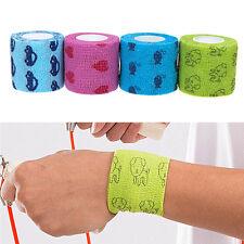 Cat Dog Pet Adhesive Bandage Tape First Aid Medical Care Self Adherent Wrap 5M