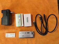 Sony Walkman Nw-Ms9 Mp3 Player Bundle. Two new Batteries!