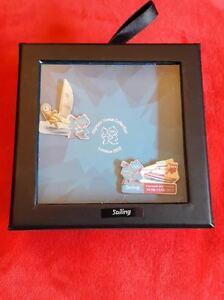 London Olympics 2012 - 2 Pin Box Set - Sailing