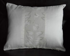 LAURA  ASHLEY / JOHN LEWIS FABRIC ~ ASHCROFT / DUPION SILK ~ 15 x12 inch CUSHION