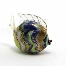 Sculpture Collection Fish Striped Murano Glass Made in Italy
