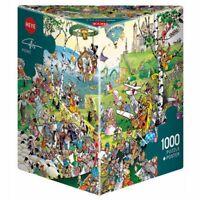Picnic, Callligaro - Heye Puzzles - Triangular 1000 piece Jigsaw Puzzle HY29836