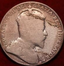 1908 Canada 50 Cents Silver Foreign Coin