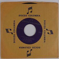 LOS HALCONES DE SALITRILLO: Rare Latin Bolero DISCOS COLUMBIA 45 Record NM-