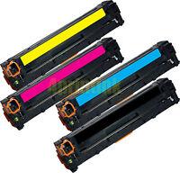 4 x 125A Toner for HP CB540A CB541A CB542A CB543A Color Laserjet CP1515n CP1518