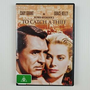 To Catch A Thief DVD - Cary Grant - Grace Kelly - Region 4 - TRACKED POSTAGE