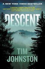 Descent by Tim Johnston (2015, Hardcover)